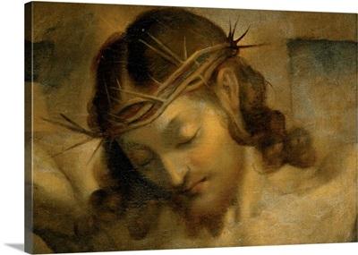 Head of Christ, Barocci, 16th c. Brera Gallery, Milan, Italy