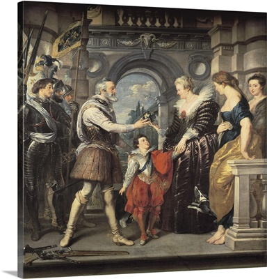 Henri IV Leaving for the War and Marie de Medici, March 20, 1610.