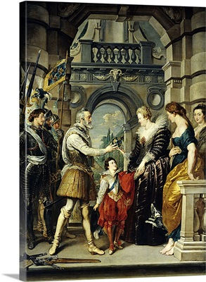 Henry IV of France Appointing Queen Marie de Medici His Regent, 1610