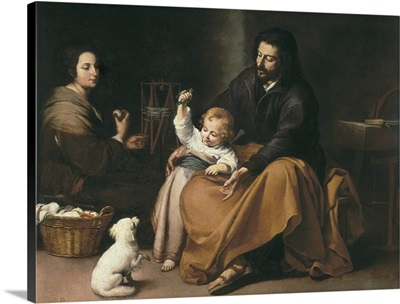 Holy Family with the Little Bird, Ca. 1650