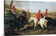 Hunt Scenes, The Kill. Edward Benjamin Herberte