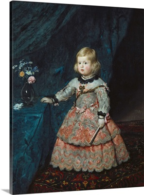 Infanta Margarita Teresa in a Pink Gown