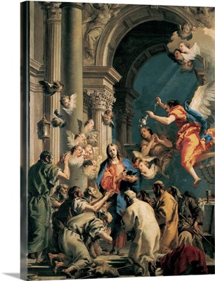 Institution of the Eucharist, by Giandomenico Tiepolo, 1778-1779, Accademia, Venice