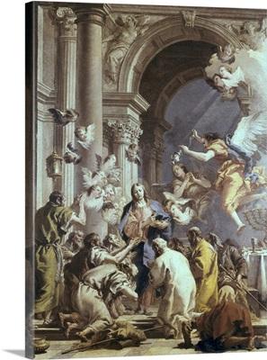 Institution of the Eucharist. Ca.1720-70