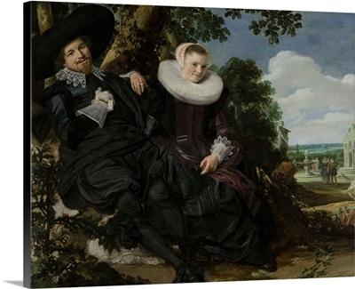 Isaac Massa and Beatrix van der Laen, by Frans Hals, c. 1622