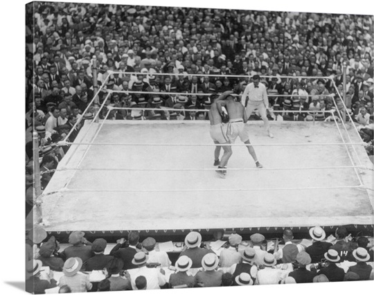 Jack Dempsey and Georges Carpentier Wall Art, Canvas Prints, Framed ...