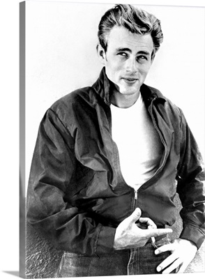 James Dean in Rebel Without A Cause - Vintage Publicity Photo