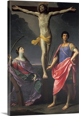 Jesus Christ Crucified between St Catherine of Alexandria and St Julius, by Guido Reni