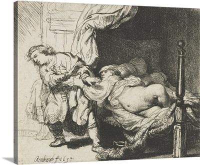 Joseph and Potiphar's Wife, by Rembrandt van Rijn, 1658