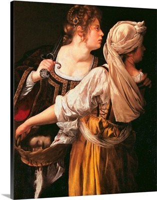 Judith And Her Maidservant (Judith With Holofernes Head), 1615