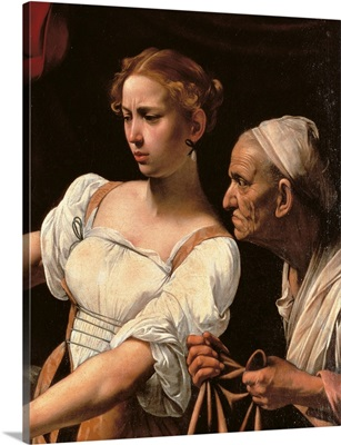 Judith Beheading Holofernes, by Caravaggio, c. 1598-1599. Palazzo Barberini, Rome