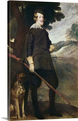 King Philip IV of Spain as a Hunter, 1634-36