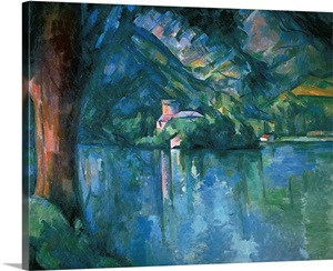 Lake Annecy 1896 By Paul Cezanne Courtauld Institute Of