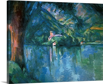 Lake Annecy. 1896. By Paul Cezanne. Courtauld Institute of Art, London