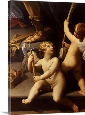 Lament over the Body of Christ (Pieta dei Mendicanti), by Guido Reni, c. 1613-16.