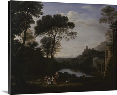 Landscape With The Nymph Egeria, By Claude Lorrain, 1669