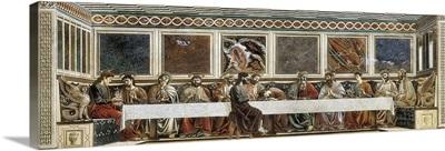Last Supper by Andrea del Castagno