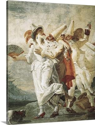 Life of Pulcinella, Pulcinella in Love, 1797