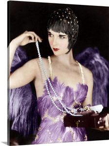 Louise Brooks In The Canary Murder Case Vintage