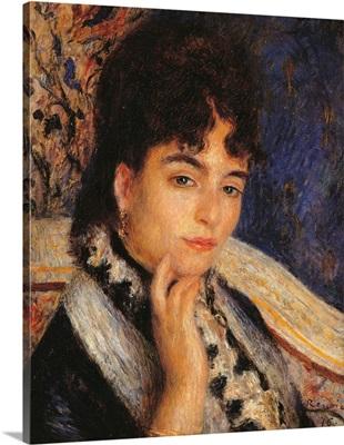Madame Alphonse Daudet, by Pierre-Auguste Renoir, 1876. Musee d'Orsay, Paris, France