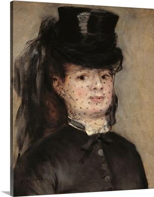 Madame Darras, by Pierre-Auguste Renoir, 1872. Musee d'Orsay, Paris, France