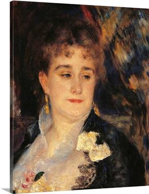 Madame Georges Charpentier, by Pierre-Auguste Renoir, 1876-1877. Musee d'Orsay, Paris