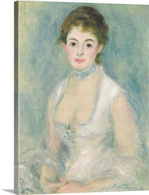 Madame Henriot, by Auguste Renoir, 1876