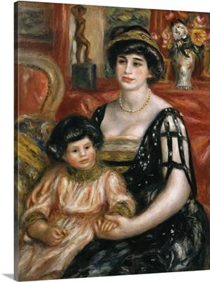 Madame Josse Bernheim-Jeune and her Son Henry. 1910