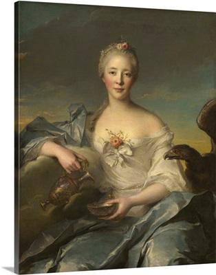 Madame Le Fevre de Caumartin as Hebe, by Jean-Marc Nattier, 1753, French painting
