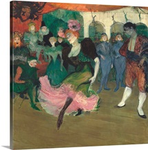 Marcelle Lender Dancing the Bolero in 'Chilperic', by Henri de Toulouse-Lautrec