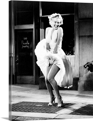 Marilyn Monroe in The Seven Year Itch - Vintage Publicity Photo