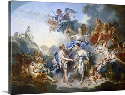 Marriage of Cupid and Psyche, 1744