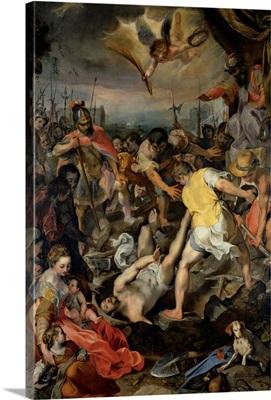 Martyrdom of St. Vitalis, by Barocci, 1583. Brera Gallery, Milan, Italy