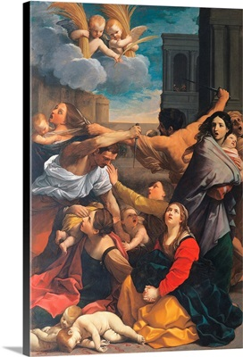 Massacre of the Innocents, by Guido Reni, c. 1611. National Gallery, Bologna, Italy