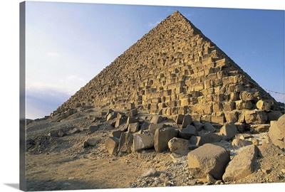 Menkaure's Pyramid, Giza, Egypt