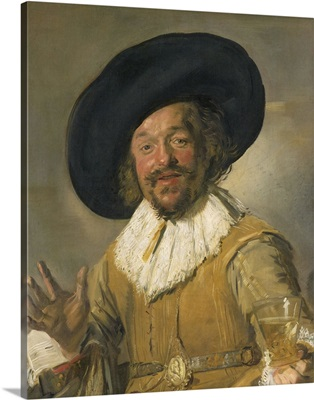 Merry Drinker, by Frans Hals, 1668-1630