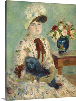 Mlle Charlotte Berthier, by Auguste Renoir, 1883
