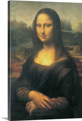 Monna Lisa of Giocondo (The Gioconda), by Leonardo da Vinci, 1503-1504, Louvre, Paris