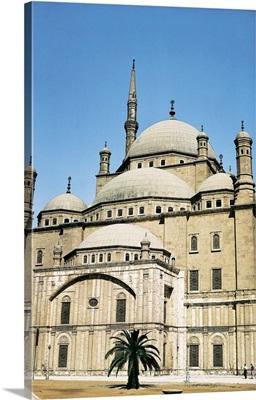 Mosque of Muhammad Ali. 1830-57. By Yussuf Bushnaq. Cairo, Egypt