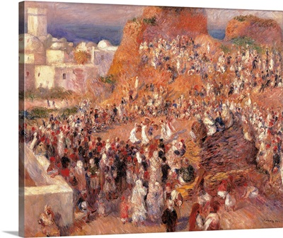 Mosque, or Arab Festival, by Pierre-Auguste Renoir, ca. 1881. Musee d'Orsay, Paris