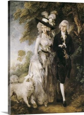 Mr and Mrs William Hallett (The Morning Walk)