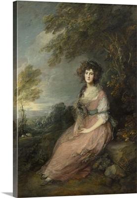 Mrs. Richard Brinsley Sheridan, by Thomas Gainsborough