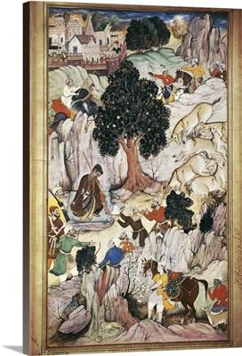Mughal emperor of India (1565-1605) Muhammad Akbar