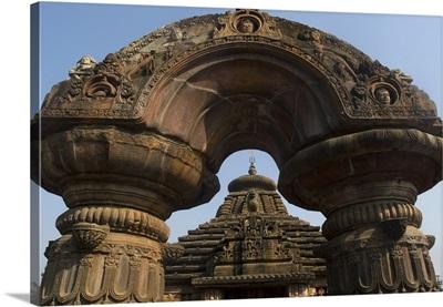 Mukreswar Temple. 10th-century Hindu temple dedicated to Shiva. Bhubaneswar, India