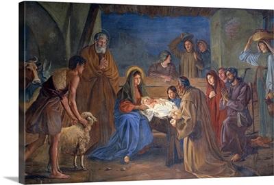 Nativity, by Ludwig Mayer, 1891. Treviso, Italy