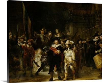 Night Watch, by Rembrandt van Rijn, 1642