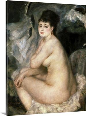 Nude Seated on a Sofa (Anna). 1876