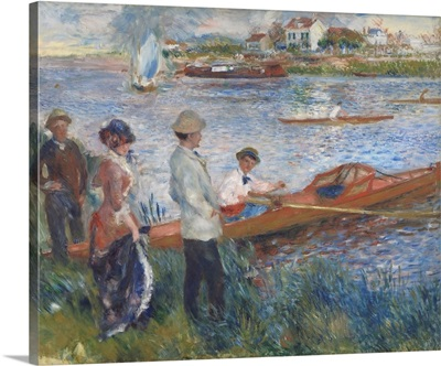 Oarsmen at Chatou, by Auguste Renoir, 1879