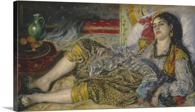 Odalisque, by Auguste Renoir, 1870