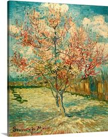 Peach Blossoming (Souvenir de Mauve), by Vincent Van Gogh, 1888. Kroller-Muller Museum